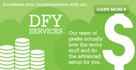 Infusionsoft done for you services